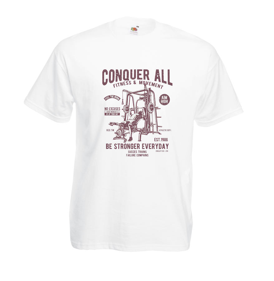 Conquer All design for t-shirt, hoodie & sweatshirt