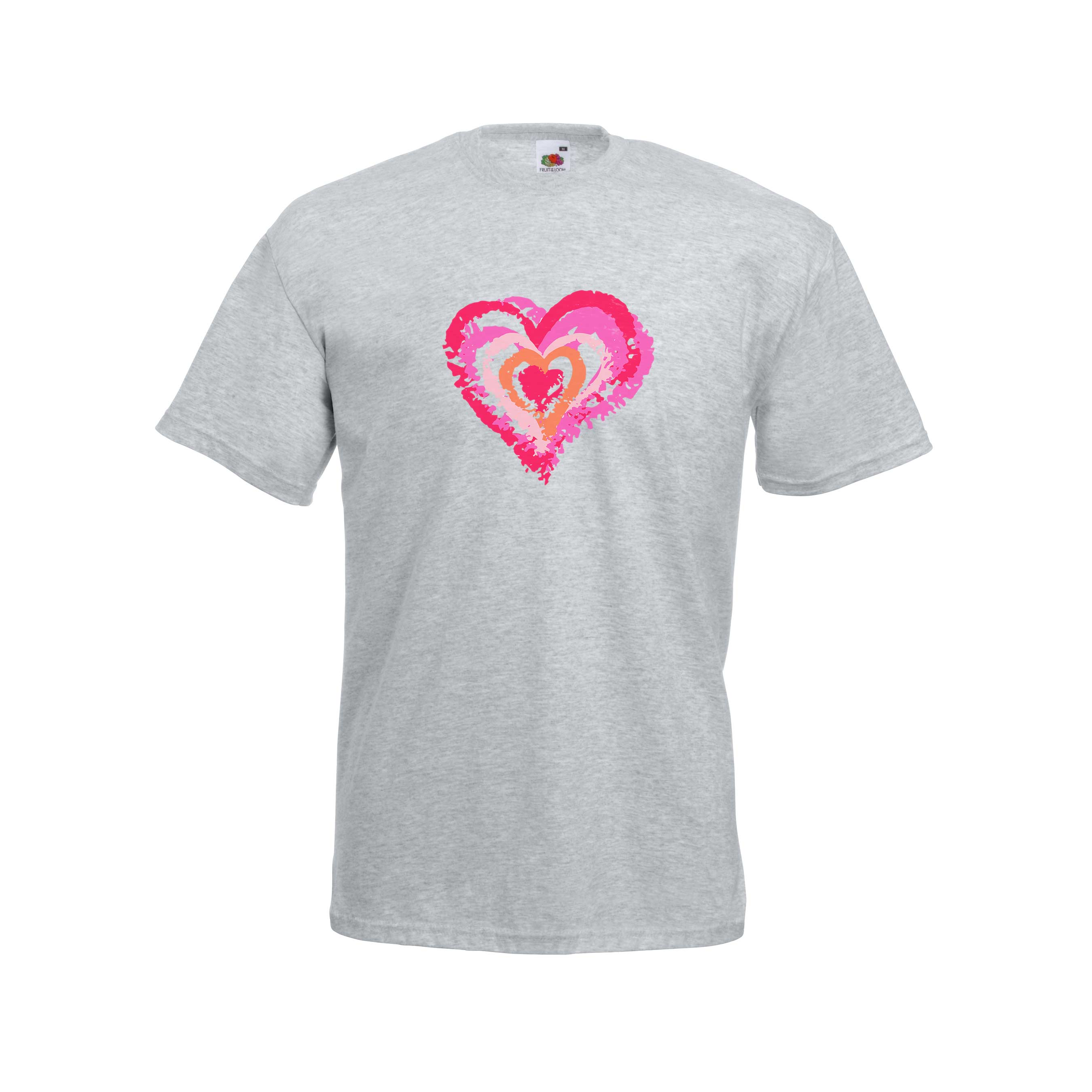 Grunge Heart Layers design for t-shirt, hoodie & sweatshirt