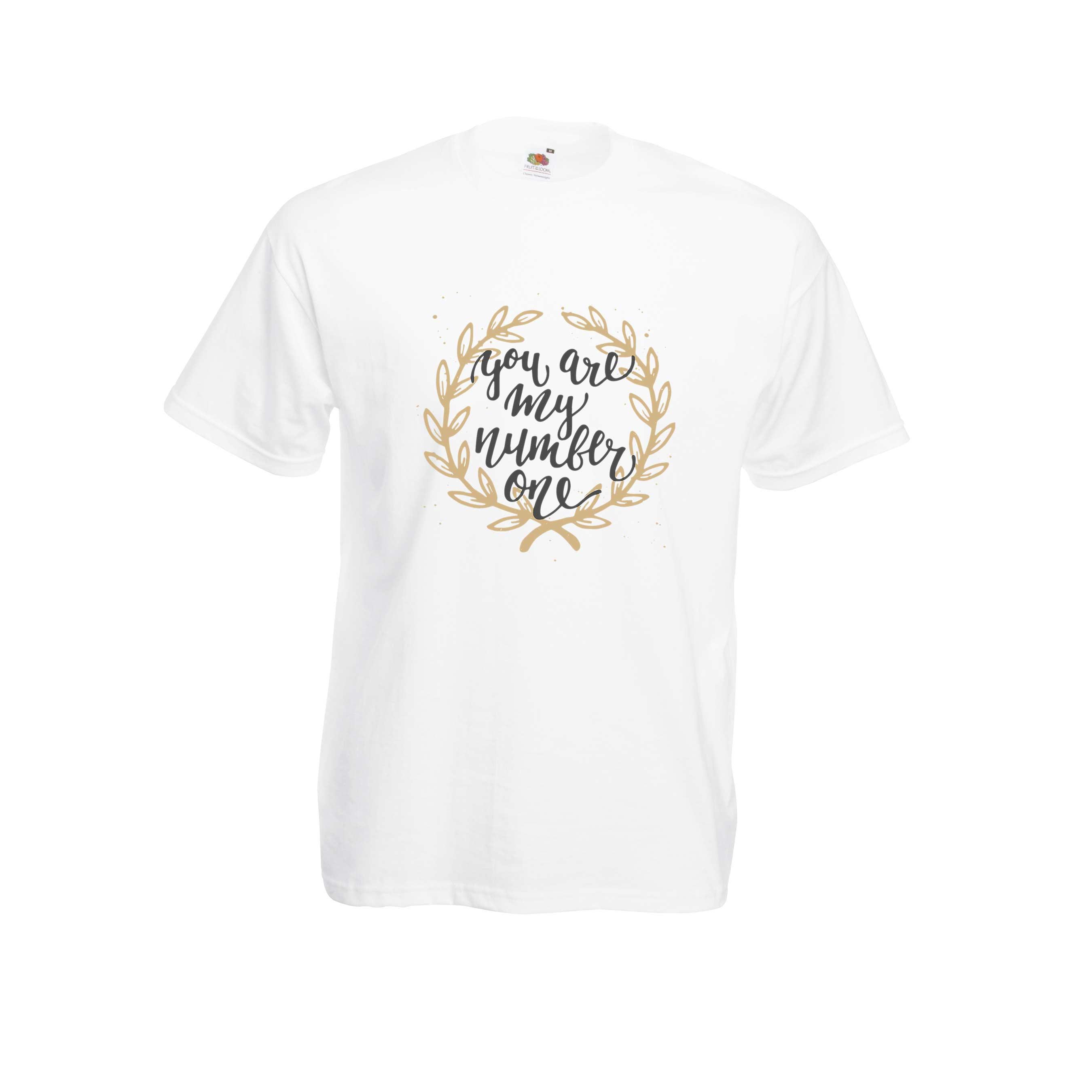 Number One design for t-shirt, hoodie & sweatshirt