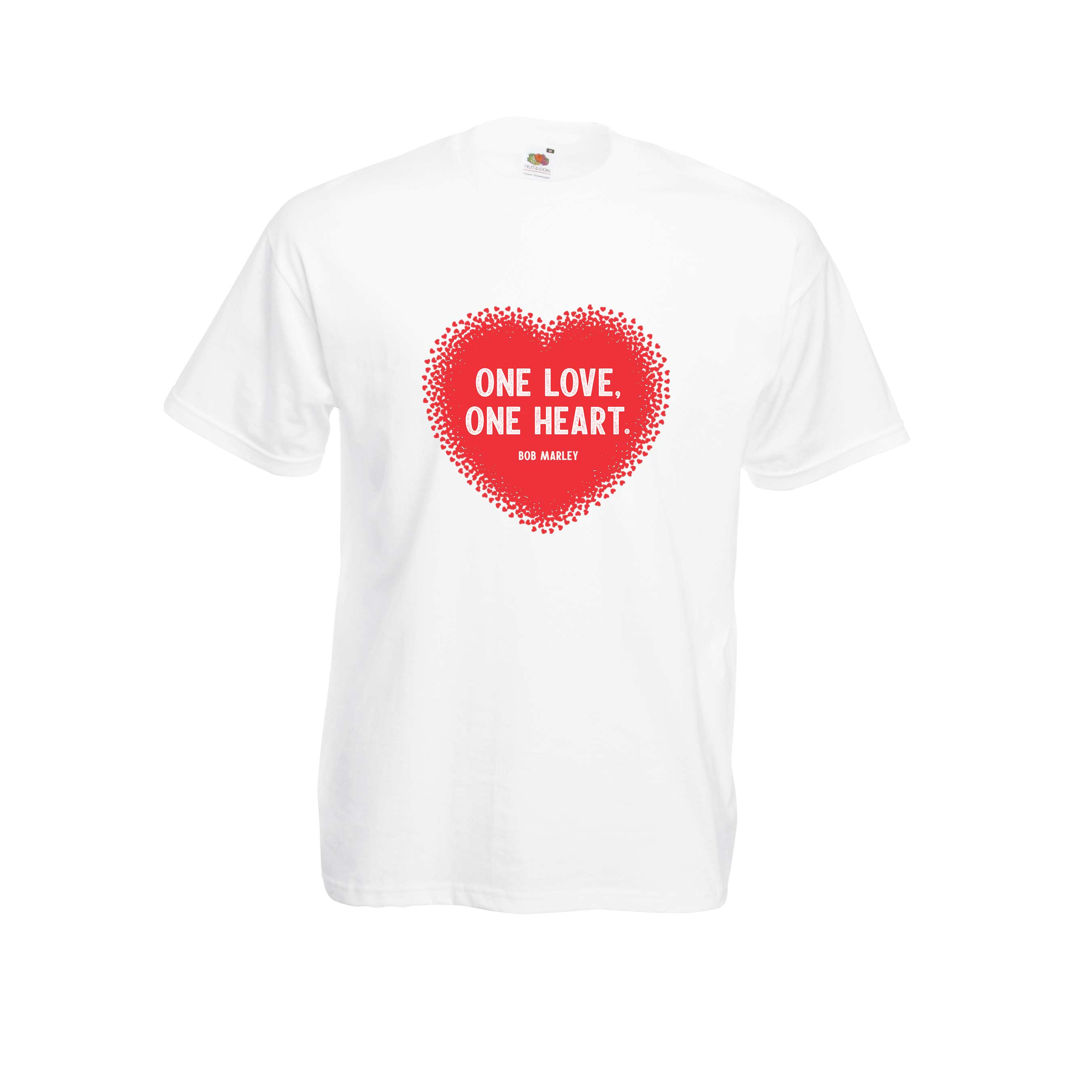 One Love design for t-shirt, hoodie & sweatshirt