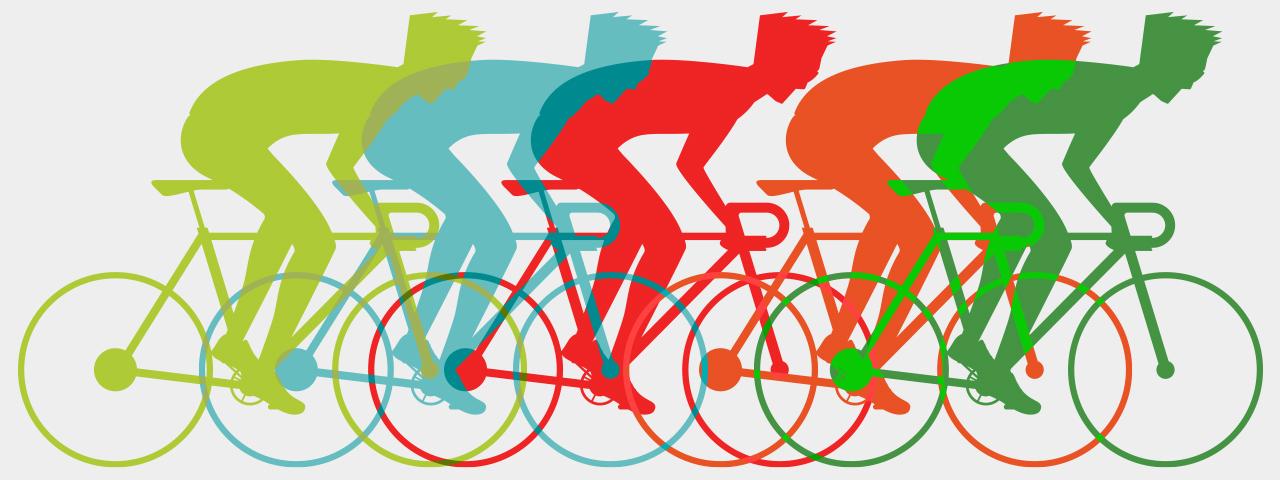 Bicycling designs for t-shirts, hoodies & sweatshirts